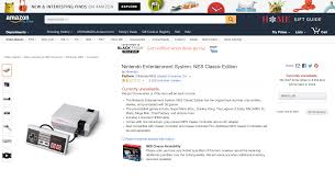 black friday amazon nes classic the nintendo nes classic was instantly sold out at launch proves