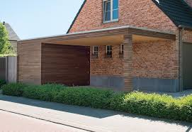 modern carport design ideas the modern carports in timber from livinlodge u0026rsquo s pure line