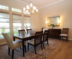 elegant casual contemporary home transitional dining room
