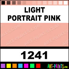 light portrait pink artist acrylic paints 1241 light portrait