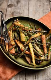 green beans for thanksgiving best recipe balsamic roasted carrots and green beans paleo leap