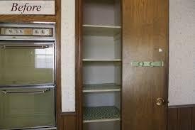 Kitchen Pantry Cupboard Designs Open Kitchen Pantry Remodel And How To Keep It Pretty Small