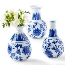 Blue Flower Vases Blue U0026 White Canton Collection Bud Vases U2013 Waiting On Martha