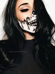Awesome Makeup For Halloween Skull Makeup Costumes Pinterest Skull Makeup Makeup And