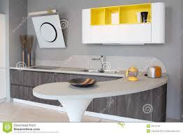 yellow modern kitchen modern kitchen white and yellow stock photo image 39675166