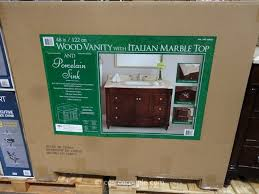 72 Inch Single Sink Vanity Lanza Products 48 Inch Single Sink Wood Vanity Costco 4 Costco 48