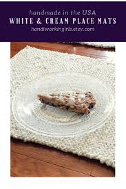 best 25 cream placemats ideas on pinterest blue wood stain