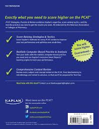 kaplan pcat 2015 2016 strategies practice and review with 2