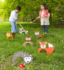 woodland croquet great for family game night and outdoor parties