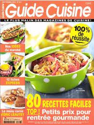 magazine guide cuisine journaux fr guide cuisine