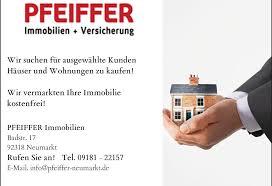 Immobilie Verkaufen Pfeiffer Immobilien Versicherungen Finanzierungen In Neumarkt