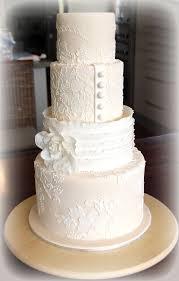 best 25 lace wedding cakes ideas on buttercream - Lace Wedding Cakes