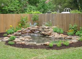 backyard ponds be equipped outside water ponds be equipped small