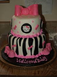 35 yummy baby shower cakes for girls baby shower table