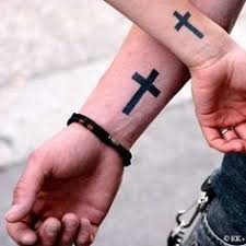 christian cross tattoos for men mens religious cross arm god is