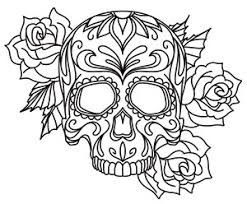 thread tattoos sugar skull threads unique and awesome