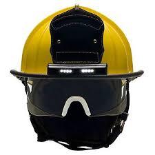 streamlight firefighter helmet light bullard retrak structural helmet with traklite lighting system the