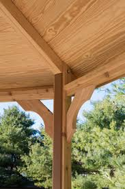 wooden octagon gazebo kit amish made by yardcraft
