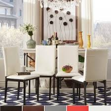 Dining Room Chairs Overstock by Set Of 4 Dining Room U0026 Kitchen Chairs Shop The Best Deals For