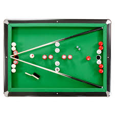 atomic classic bumper pool table hathaway renegade 54 in slate bumper pool table for family game
