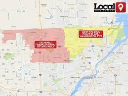 Map Toledo Ohio by Toledo Oh U2013 Local Door Coupons
