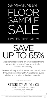 stickley audi nyc annual floor sle sale stickley audi and co ny
