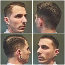 haircut i gave myself fade hardpart straight razor edge up