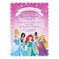 awesome disney princess invitation cards 74 with additional 1st