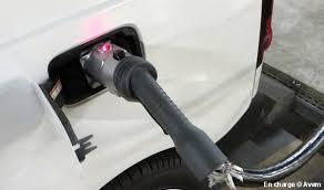 si e voiture et si un service mobile venait recharger votre voiture électrique