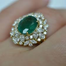 jewelry diamonds rings images Diamonds and emerald cocktail ring id jewelry diamond district jpg