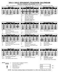 county florida school calendar for 2011 2012