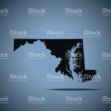 maryland map vector maryland map stock vector 592394912 istock