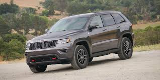 2017 jeep grand cherokee dashboard 2017 jeep grand cherokee trailhawk review roadshow