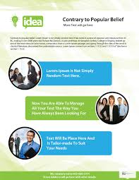 one sided brochure template 26 free a4 brochure design psd