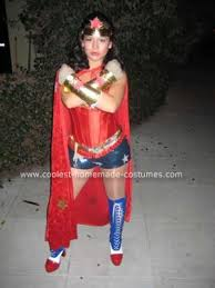Homemade Woman Halloween Costume Coolest Hand Crafted Woman Costume