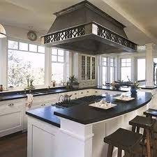 island hoods kitchen pro style kitchen with center island and calcutta gold marble