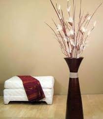 vase with branches for corner idea for my bathroom and