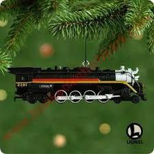 2001 lionel 6 hallmark ornament
