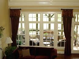 large window treatment ideas large window curtains ideas craftmine co