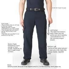 breakdown of ems pants ems