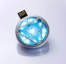 Iron Man Chest Light Iron Man Reactor Usb Necklace Great Things To Buy