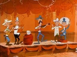 lucky luke daisy town square dance