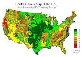 soil map soil moisture regimes of the contiguous united states nrcs soils