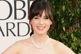 zooey deschanel golden globes dress 2013 see her red carpet look