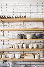 kitchen with shelves no cabinets is the no cabinet kitchen trend really for you