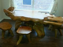 Pictures Of Tree Stump Decorating Ideas Tree Stump Ideas For Furniture And Decorating