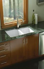Narrowed I Shaped Kitchen Kohler Executive Chef Undermount Kitchen Sink 33 In X 22 In