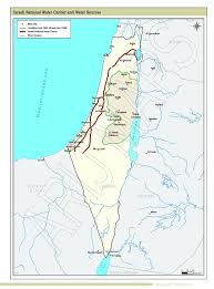 negev desert map 40 years of occupation