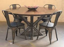 industrial kitchen table furniture rust rot