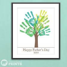 s day presents s day tree handprints fathers day